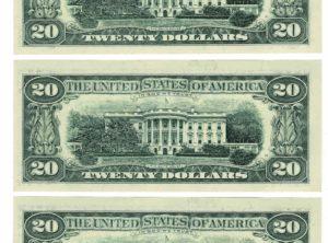 Billet - 20 Dollars US - USA - Numéro Suivi - 1993