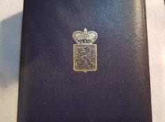 Plaque Brabant Belgique - Décoration - Praemium Datum Cui Bene Meritus de Brabantia