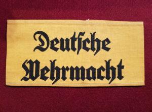 Brassard - Allemagne - Germany - Nazi - Deutsche Wehrmacht