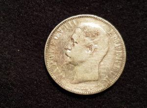 France - 5 Francs - Napoléon III Empereur - Tête nue