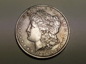USA - 1 Dollar - 1896 - Morgan