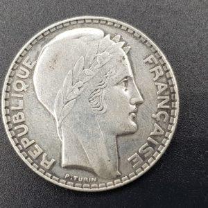 Pièce - Monnaie - France - 20 Francs - Turin - 1933