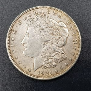 Pièce - Monnaie - 1$ Dollar - Morgan - 1921