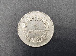 France – 5 Francs – 1933 – Lavrillier