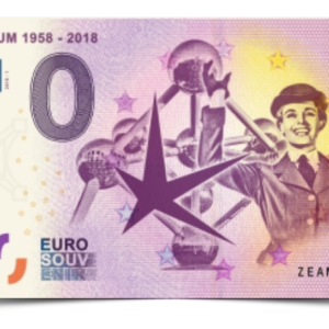 Billet Souvenir 0€ - Banknote - Atomium Expo 1958 - 2018 - Euro