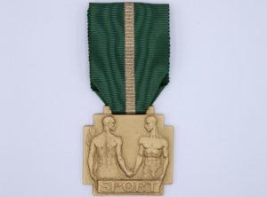 Décoration Belgique - Mérite Sportif 1939 OR - Léopold III