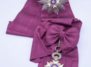 Décoration Belgique - Grand Cordon - Ordre de la Couronne - Degreef