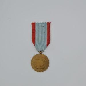 Décoration Belgique - Médaille des 75 ans de l'union postale universelle - Timbre poste
