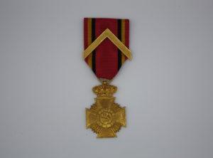 Décoration Belgique - Décoration Militaire pour actes de courage en service
