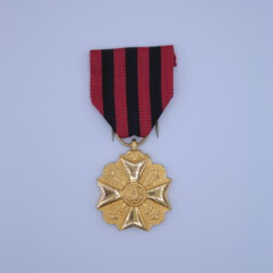 Décoration Belgique - Médaille Civique Ancienneté de Service Administratif - Dorée