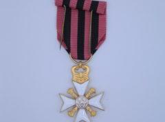 Décoration Belgique - Croix Civique - Ancienneté de Service - Classe OR