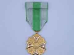 Décoration Belgique - Médaille Ancienneté de Service - Garde Civique - Sapeur Pompier - 1898 - 1914 - OR