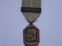 Décoration Belgique - Médaille de la Guerre Africaine - 1940-1945 - 1947 - MAROC
