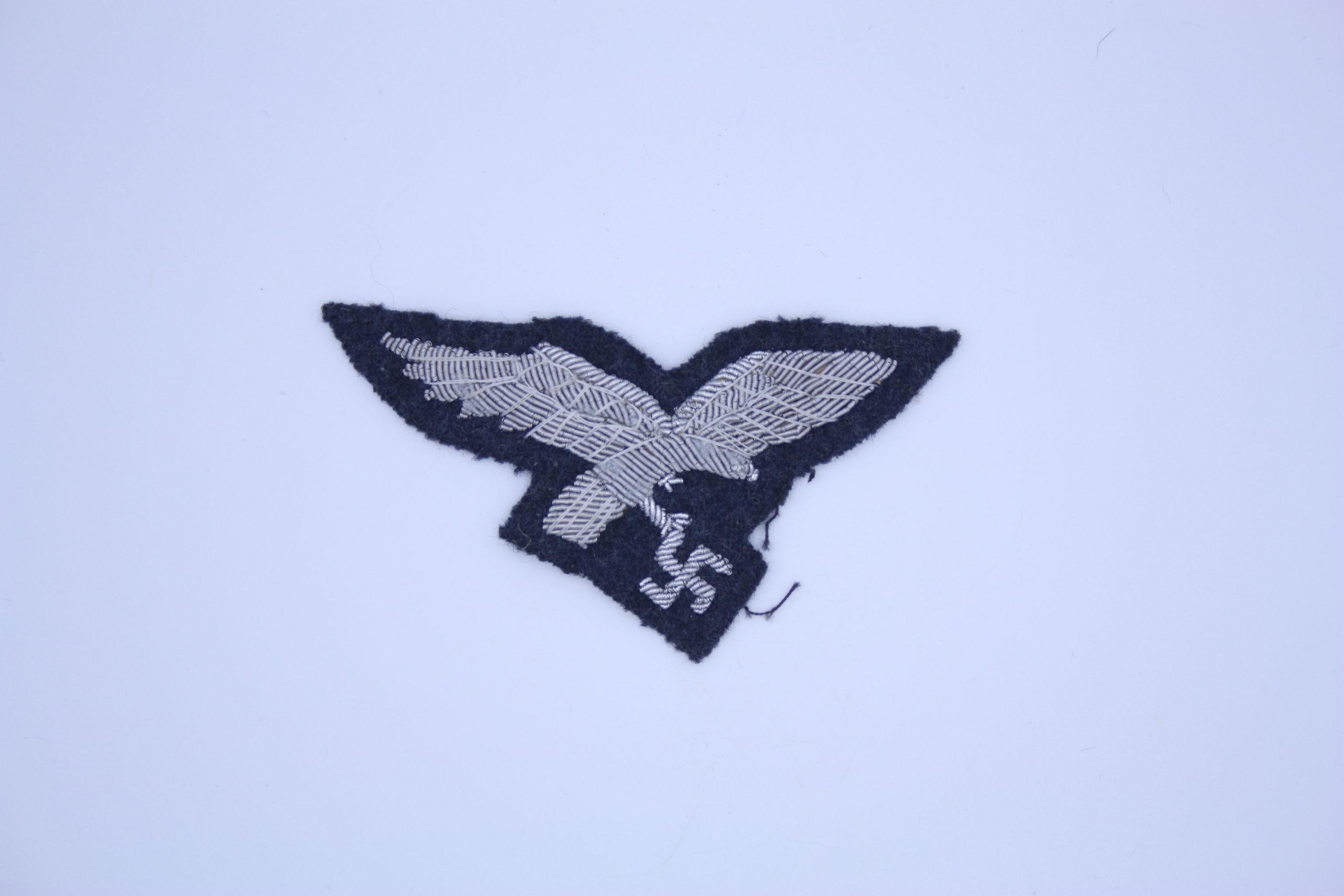 Militaria - Insigne Allemand - Brodé - Luftwaffe - Officier