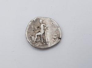 Pièce Romaine - Denier - Empereur Hadrien - 117 -138