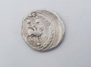 Pièce Romaine - Denier - République - Fonteia - 84B.C.