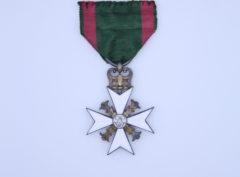 Croix Commémorative 25ème – Inauguration règne de Léopold I