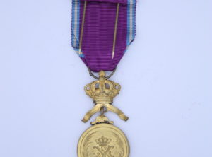 Médaille OR – Ordre Royal du Lion