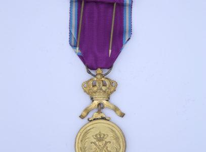 Décoration Belgique - Congo - Ordre Royal du Lion - Médaille OR