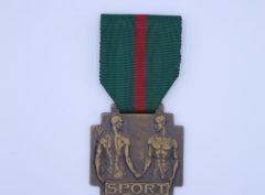Médaille Sport – Léopold III – Bronze
