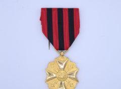 Médaille Civique – Médaille d'ancienneté 1918 – Or