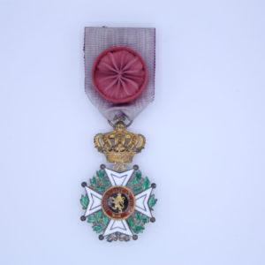 Décoration Belgique - Officier Ordre de Léopold Premier - Civil - Unilingue