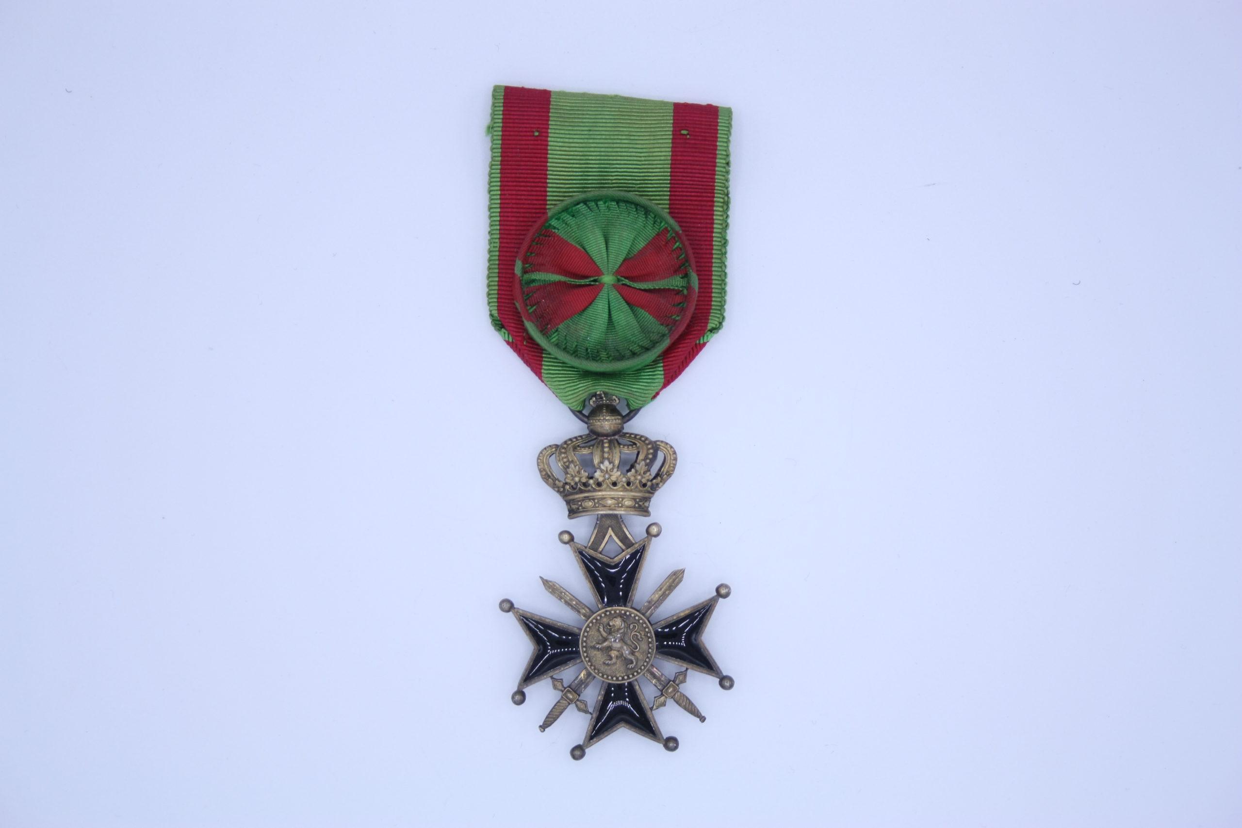 Décoration Belgique - Croix Militaire Officier