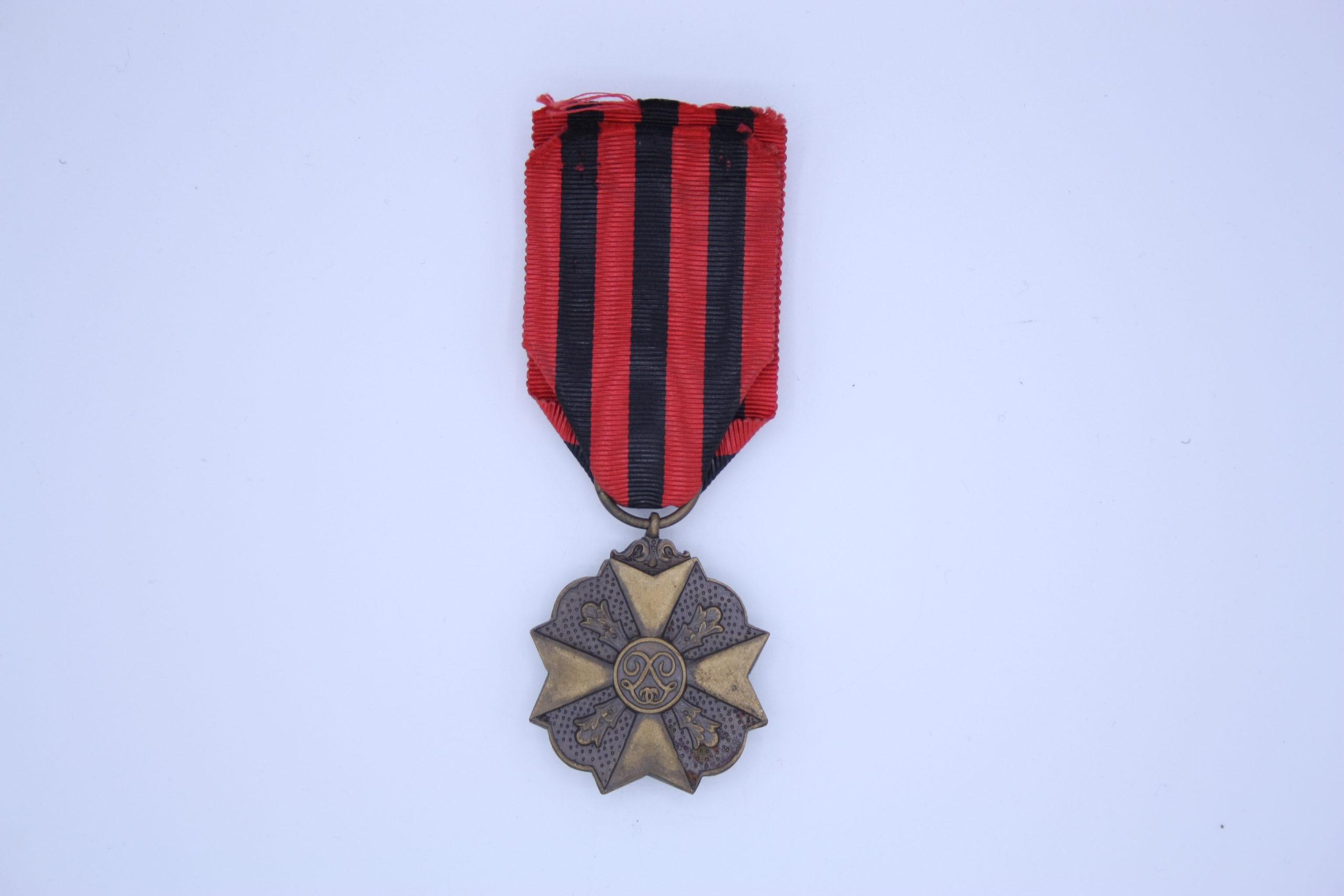 Décoration Belgique - Médaille Ancienté de Service Bronze