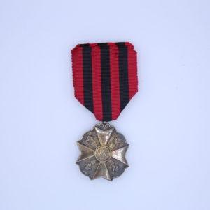 Décoration Belgique - Médaille Ancienté de Service Argent