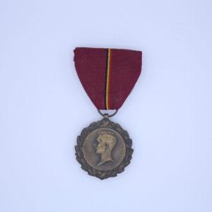 Décoration Belgique - Médailles du Roi albert 1919