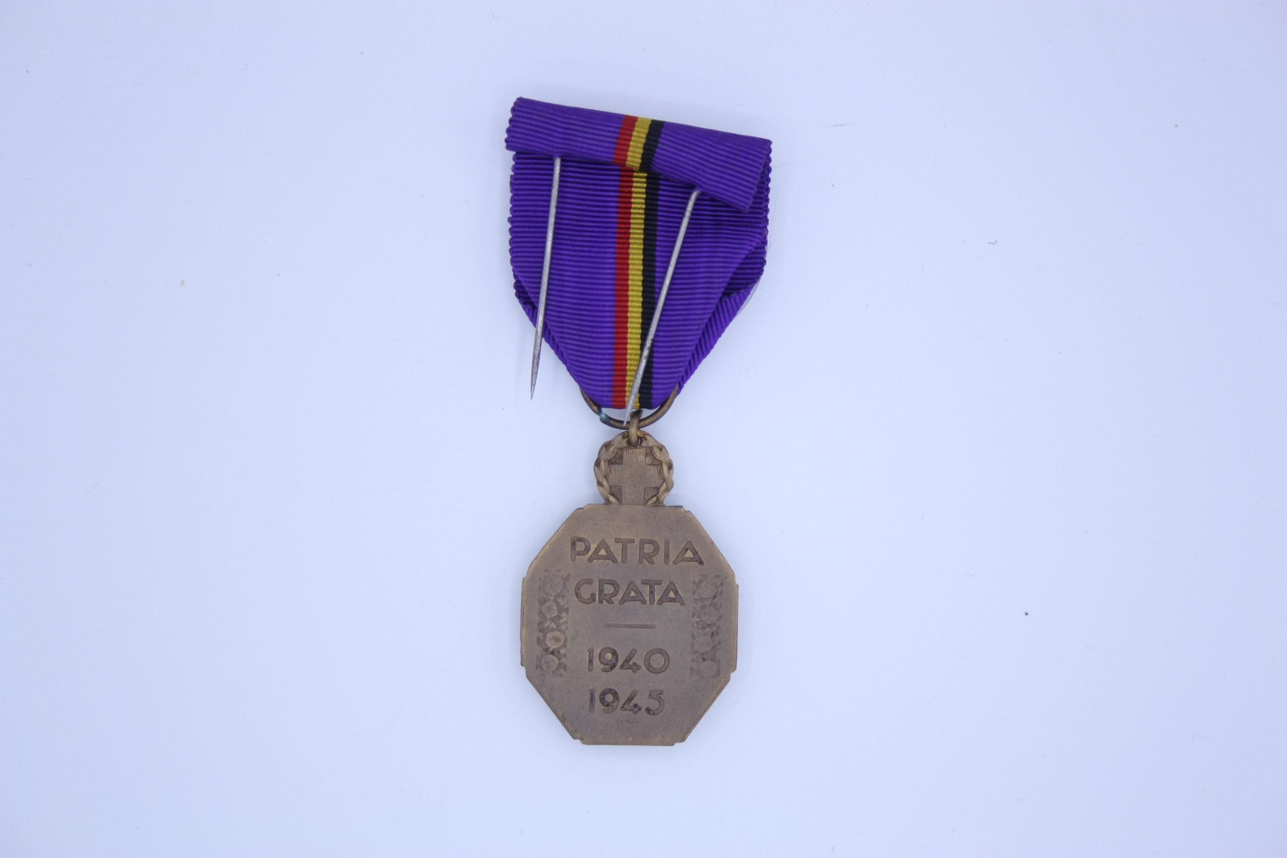 Décoration Belgique - Médaille de la reconnaissance Belge 1940-1945
