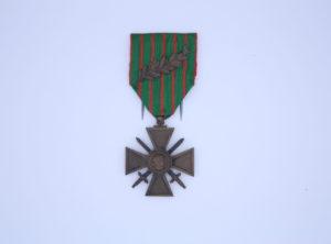 Décoration Française - Croix Militaire 1914 - 1915 - Palme
