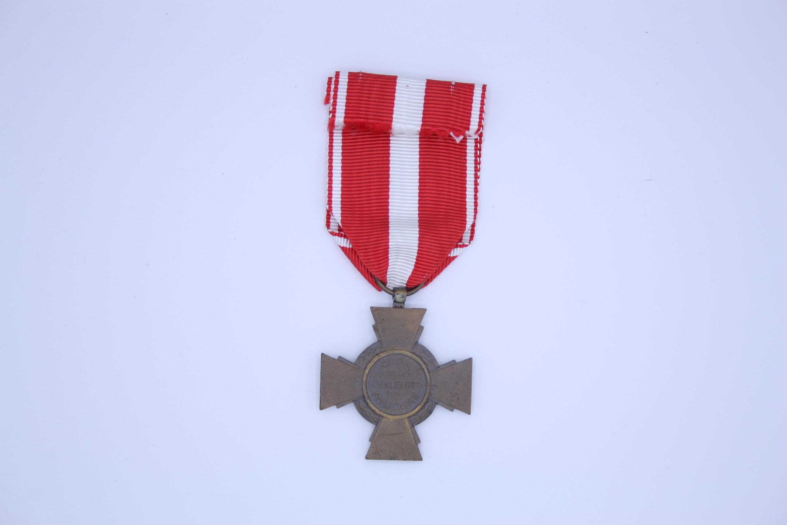 Décoration Française - Croix de la valeur Militaire