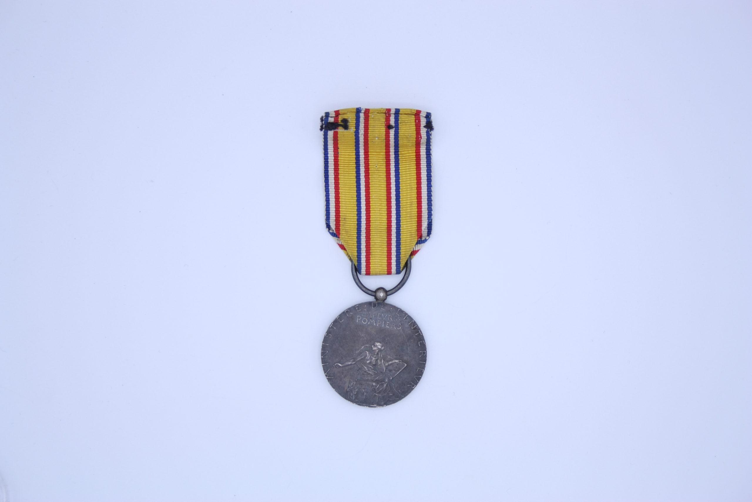 Décoration Française - Médaille Sapeur-Pompier - Ministère de l'intérieur