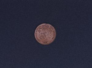 Pièce de Monnaie - Belgique - 1901 - Léopold II - FR - 1 Cent