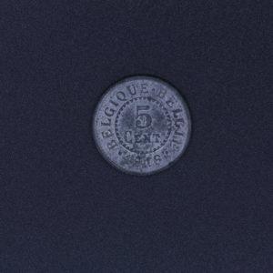 Pièce de monnaie - 5 Cent - 1916 - Belgique