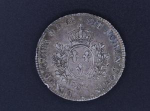 Pièce de Monnaie - France - 1758 - A PAris - Ecu au Bandeau - Louis XV