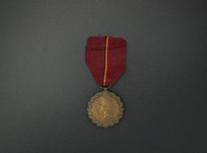 Médaille du Roi Albert 1919 – Oeuvres de charité et d'humanité