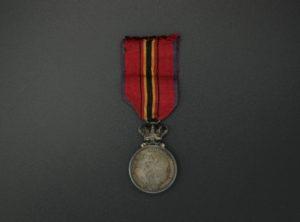 Médaille des Sauveteurs belges en argent (Léopold II)