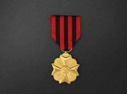 Décoration Belgique - Ancienneté de Service - 1918 - OR