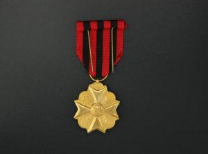 Médaille civique – Médaille d'ancienneté – Classe OR