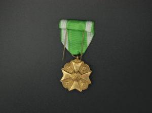 Médaille Ancienneté Service – Garde Civique – Sapeur Pompier