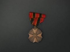 Médaille Civique – Acte de courage – Dévotion – d'Humanité – 3Classe