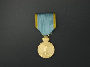 Médaille Commémorative de la Campagne d'Afrique – 1914 – 1916 – Or
