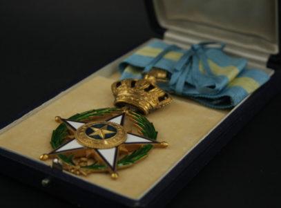 Décoration Belgique - Commandeur Ordre de l'étoile Africaine