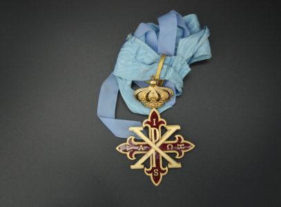 Décoration Italie - Commandeur - Ordre sacré militaire constantinien de St-Goerges