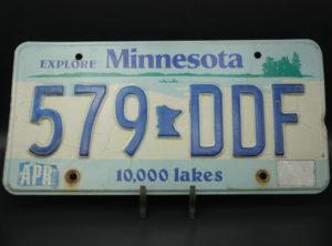Minnesota – Immatriculation – 1990