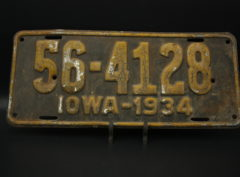 Iowa – Immatriculation – 1934