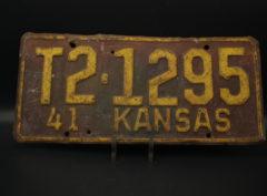 Kansas – Immatriculation – 1941