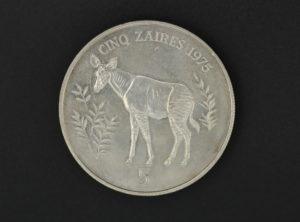5 Zaires – 1975